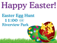 Easter Yard Sign Easter Egg Hunt Template