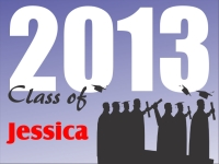 Graduation Yard Sign Jessica Template