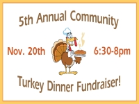 Thanksgiving Yard Sign Turkey Fundraiser Template