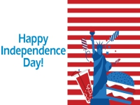 4th of July Yard Sign Independence Day Template