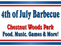 4th of July Yard Sign BBQ Template