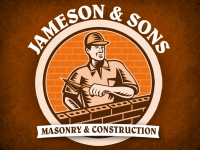 Tradesmen Yard Sign Masonry & Construction Template