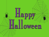 Halloween Yard Sign Spider Web Template