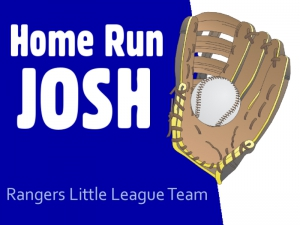 Baseball Yard Sign Home Run Josh Template