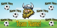 Soccer Sports Vikings w/Player Names Template
