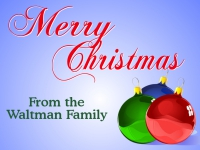 Merry Christmas Yard Sign Waltman Family Template