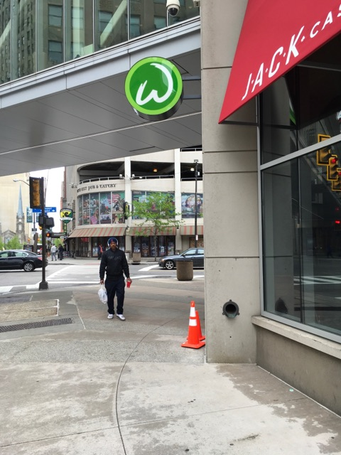 Stunning Wall Sign W for Wahlburger